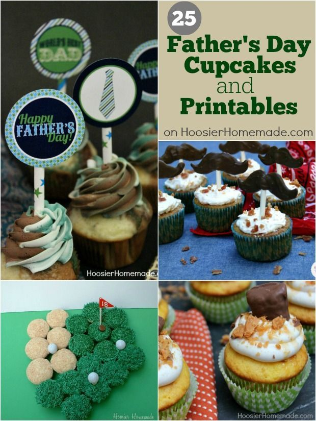 best 25 fathers day cupcakes ideas on pinterest burger. Black Bedroom Furniture Sets. Home Design Ideas