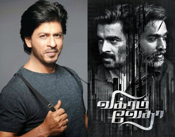 Shah Rukh Khan has refused to star in the Hindi remake of R. Madhavan's Vikram Vedha – here's why #FansnStars