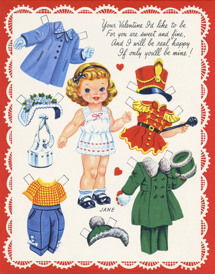 416 best images about CUTE PAPERDOLL GREETING CARDS on ...