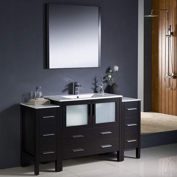 Fresca Torino 60 Espresso Modern Bathroom Vanity