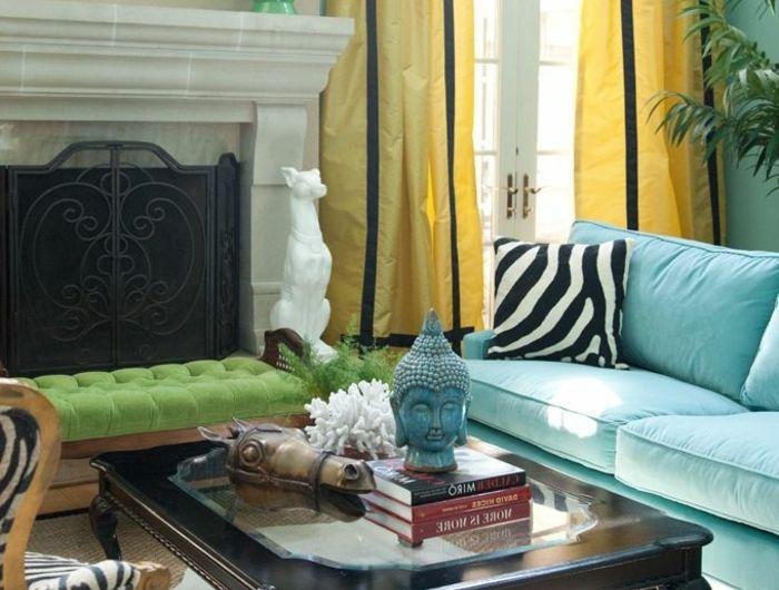 les 25 meilleures id es de la cat gorie rideaux de salon sur pinterest rideaux de la fen tre. Black Bedroom Furniture Sets. Home Design Ideas