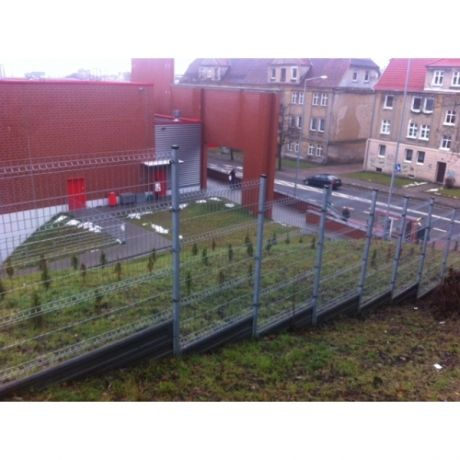 Więcej realizacji na: http://www.ogrodzenia-systemowe.pl/realizacje/ #ogrodzenia #panelowe #systemowe #bramy #napędy #automatyka #akcesoria #germaplan #Kaufland #Gorzów