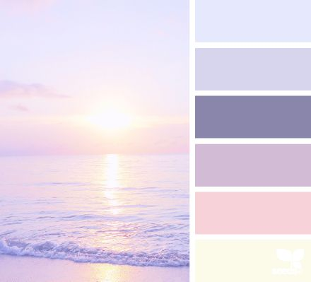 Tones that relaxes a mind. Purple color range. Inspiration for space detailing and concept model which is based on color palettes.