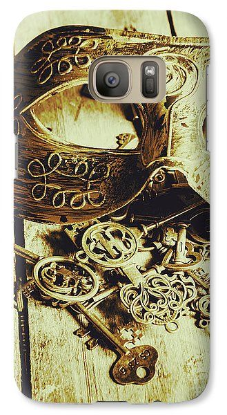 Royalty Galaxy S7 Case featuring the photograph Keys To The Kingdom by Jorgo Photography - Wall Art Gallery