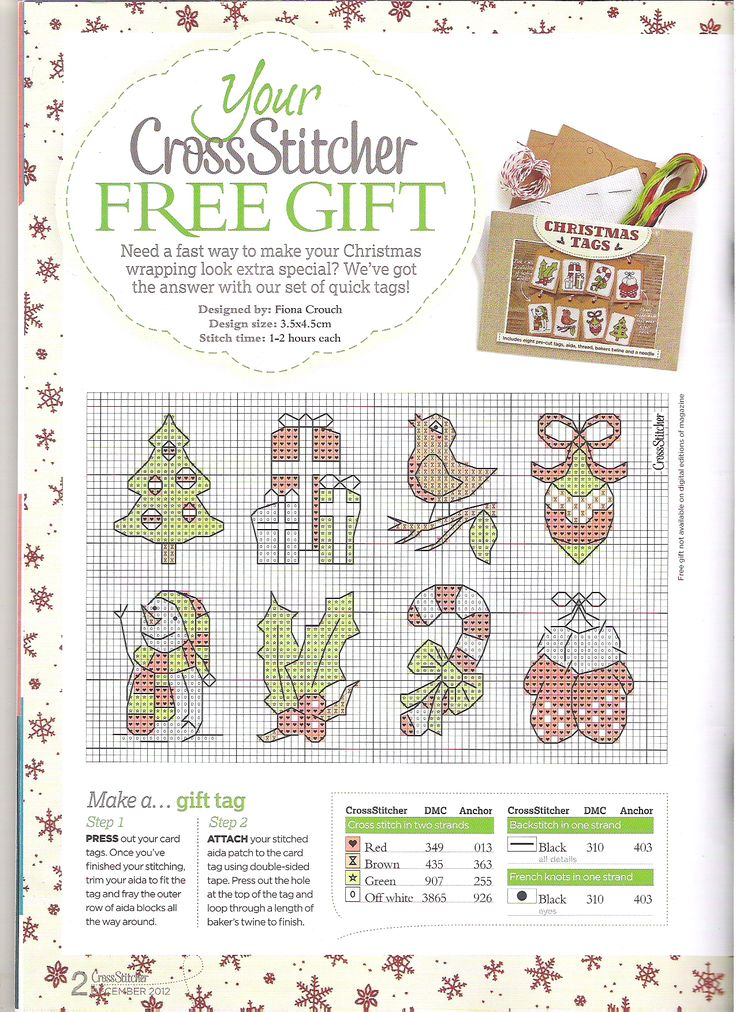 www.Crosstitch.com - Cross Stitch Patterns
