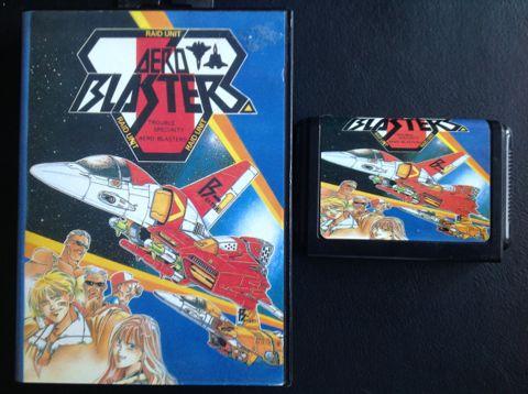 Aero Blasters Mega Drive (Jap) – Obsolete Gaming