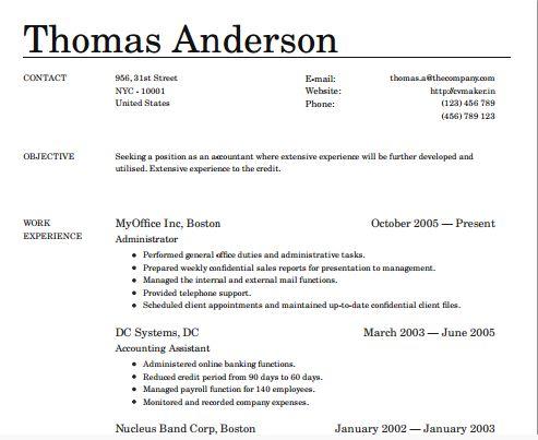 Great resume tips CV Tips via Broke in London