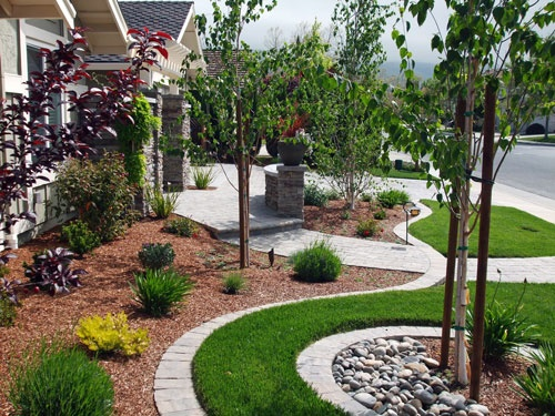 13 best images about to do front yard on pinterest arts for Landscape design san jose
