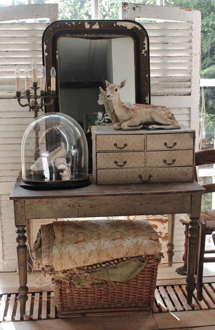 shabby cottage French chic cabin bungalow decor