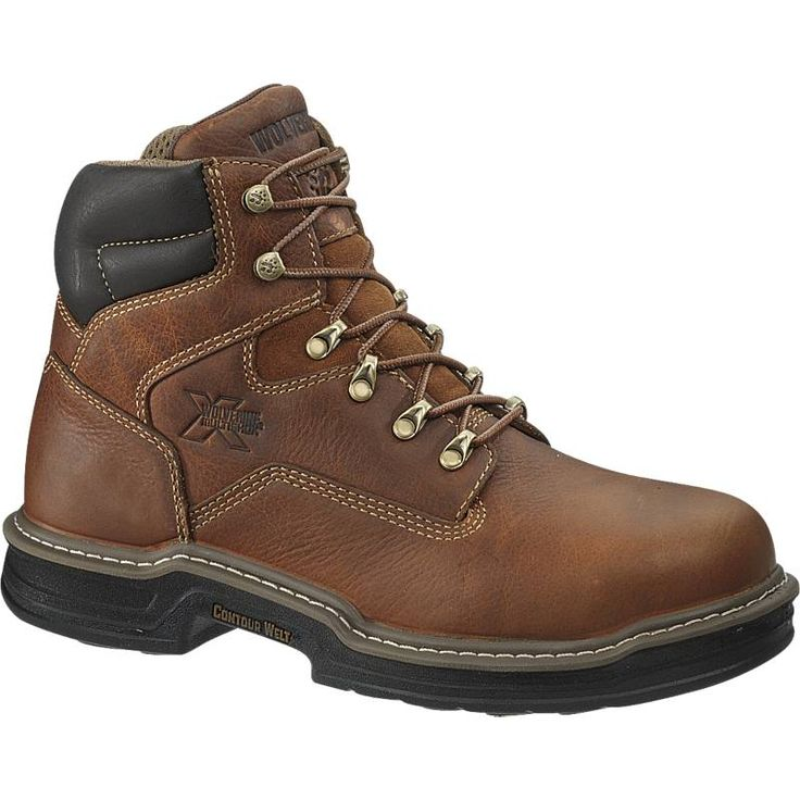 Trust Wolverine for high quality working boots that preserve your feet  comfortable all day. These Wolverine boots function a smooth full grain  leather foot