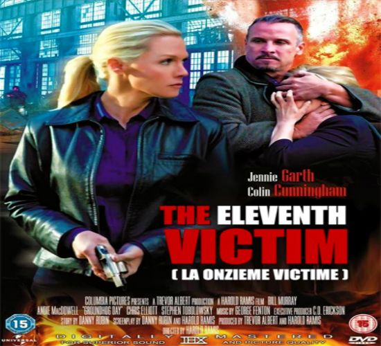 """The Eleventh Victim"" La última víctima;Nancy Grace's THE ELEVENTH VICTIM is a taut suspense-thriller that follows Atlanta Assistant District Attorney Hailey Dean (Jennie Garth) as she tirelessly pursues the conviction of a serial killer. Just when her courtroom prosecution of the murderer begins, Haileys fiancée is killed in a seemingly unrelated crime. Shattered by her personal loss, she moves to New York City and begins"