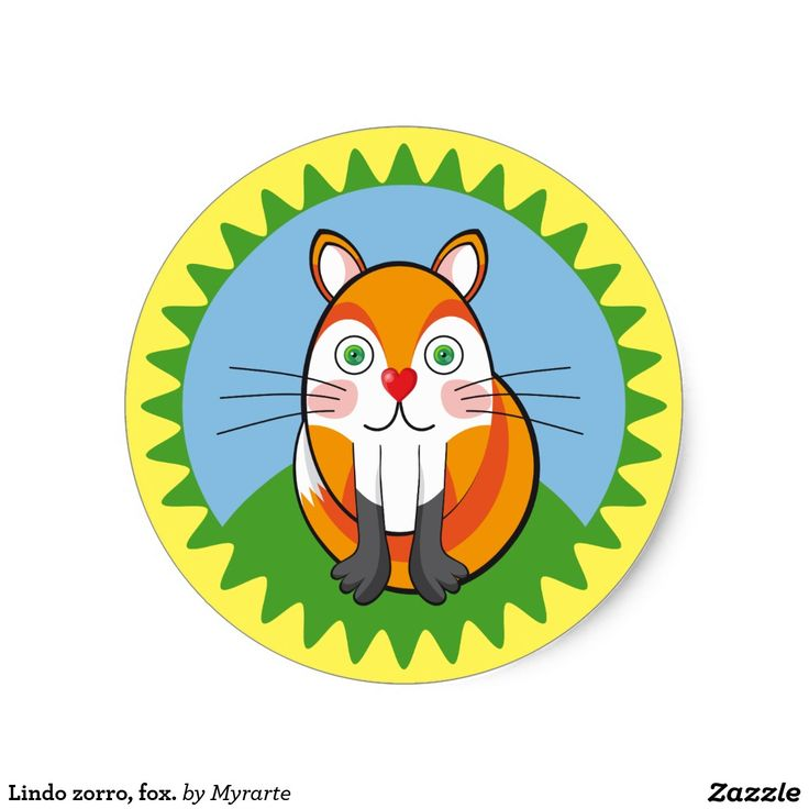 Lindo zorro, fox. Producto disponible en tienda Zazzle. Product available in Zazzle store. Regalos, Gifts. Link to product: http://www.zazzle.com/lindo_zorro_fox_classic_round_sticker-217814809130013570?CMPN=shareicon&lang=en&social=true&rf=238167879144476949 #sticker #zorro #fox