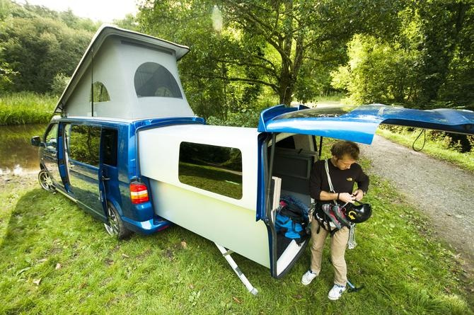 DoubleBack VW campervan...totally want this!!!