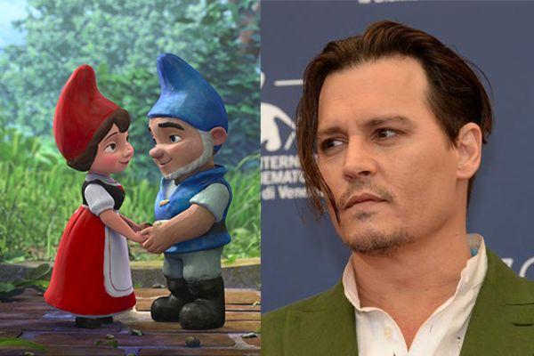 Gnomeo e Giulietta 2: Johnny Depp sarà Sherlock Gnomes nel sequel