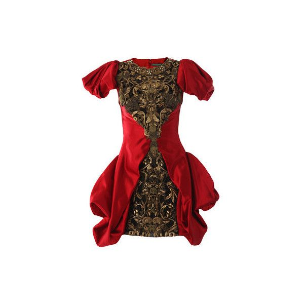 Alexander mcqueen dresses RED (£7,640) ❤ liked on Polyvore featuring dresses, alexander mcqueen, mcqueen, red, alexander, red holiday cocktail dress, red special occasion dresses, holiday dresses, red evening dresses and embellished cocktail dress