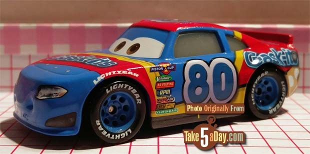 Mattel Disney Pixar CARS 3: Mood Springs and Gask-Its Say