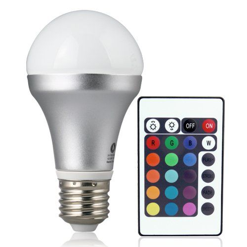 Best Christmas Gifts for Teen Girls 2015 - Color Change Light Bulbs Make Good Gift Ideas