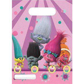 6 Sacs cadeaux Trolls: 6 Sachets Plastique fine Cet article 6 Sacs cadeaux Trolls est apparu en premier sur Toutes les promotions d'Amazon.