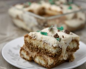 Amarula and mint tiramisu: Recipes: Good Food Channel