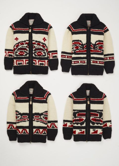 Canadian Olympic Snowboard Team Cowichan Sweater