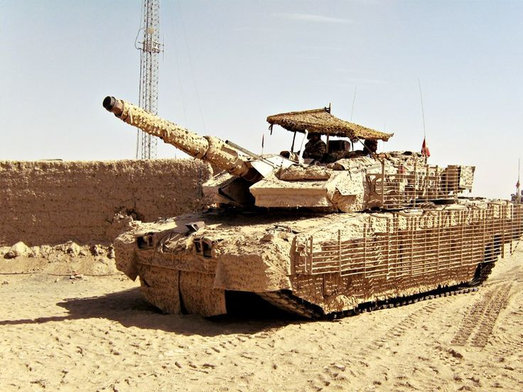 Leopard 2A6M CAN is a canadian army in Afghanistan