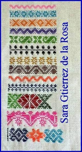 Resultado de imagen para tecnica de bordado de pepenado y la compre