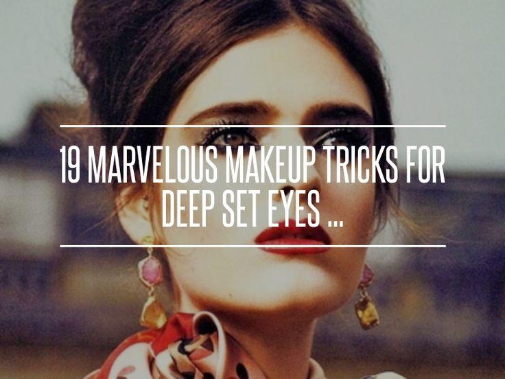 2. Cover up Any Dark Circles - 19 Marvelous Makeup Tricks for Deep Set Eyes ... → Makeup