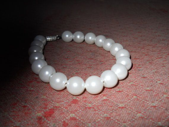 Classical and stylish white faux pearl by CelestialStudio13, $35.32