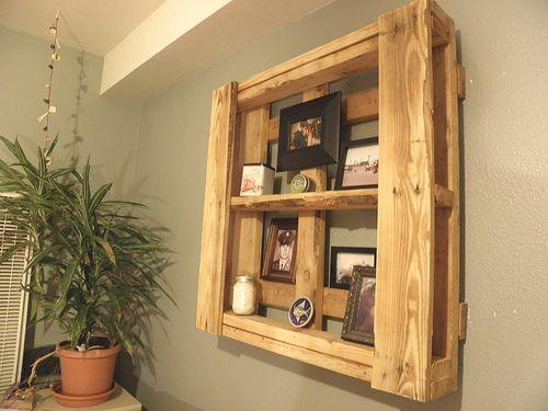 Pallet shelf.Pallet Boards, Pallet Shelves, Boards Shelves, Pallets Shelves, Beach Bathroom, Pallets Furniture, Living Room, Bathroom Decor, Pallets Boards