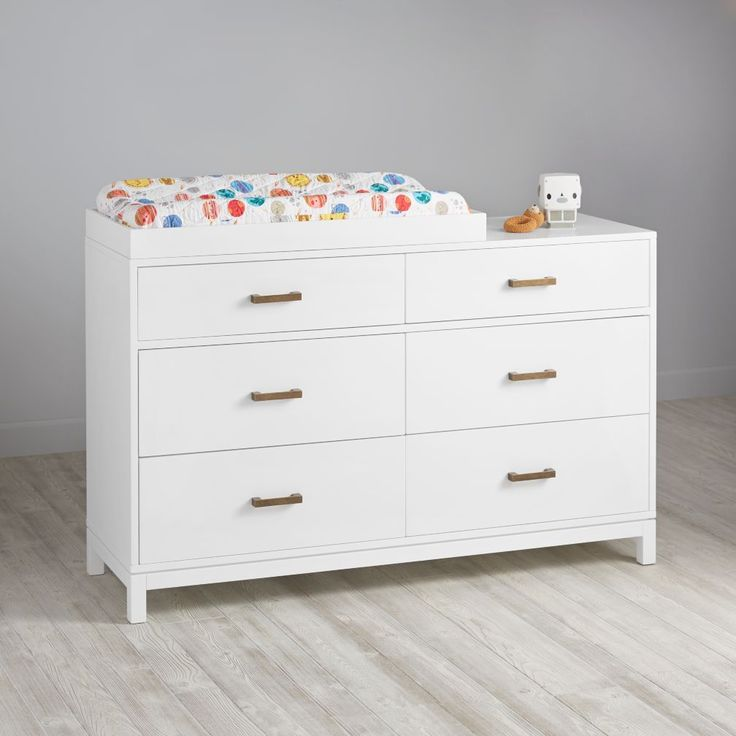 cargo 6drawer changing table white - Changing Table Topper
