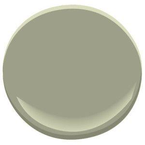 Benjamin Moore Louisburg green HC-113