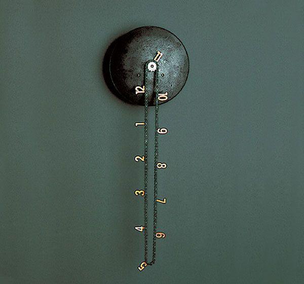 clockTime, Cool Clocks, Stuff, Chains, Catena Wall, Price Tags, Wall Clocks, Tick Tock, Design