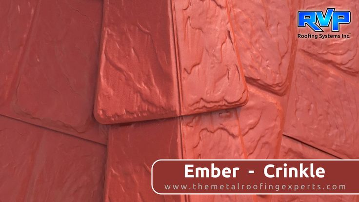 This Ember -Crinkle roof will not only protect your home for years, but it will give your home great curb appeal. It looks stunning paired with a light or white coloured brick.  You will be the envy of the neighbourhood with this roof.  Check out more at  www.rvp-roofing.com.  Don't forget to like and pin!  #RVP #armadura #highstrengthsteel #permanentroof #embercrinkle