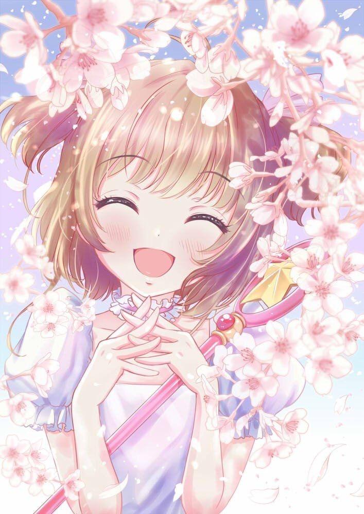 A Sakura sempre me fez sorrir e ficar feliz ! :)