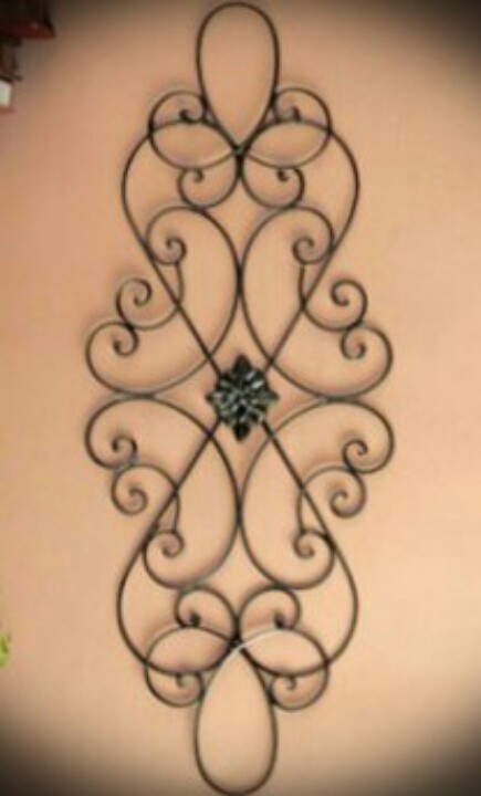 Long Iron Wall Decor : Best wrought iron decor images on