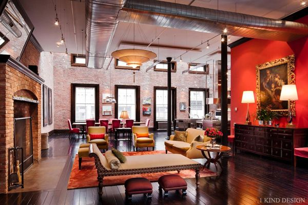 Magnificent loft mansion in TriBeCa