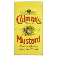 Poudre de moutarde colmans grande boîte de 454g