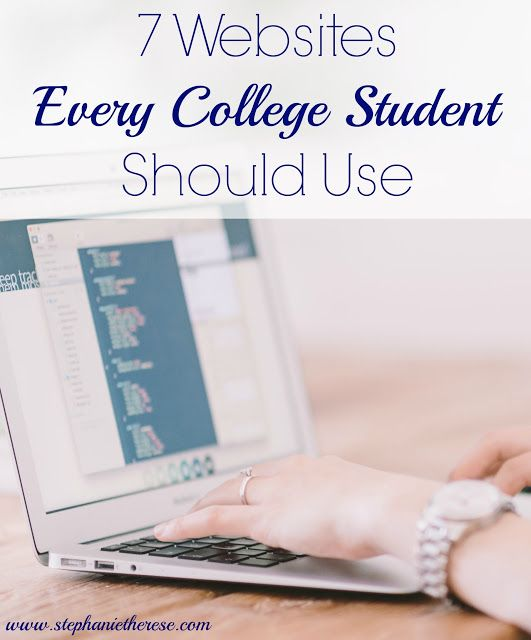 7 websites that every college student should be using. These websites make studying, doing research, and writing papers so much easier and more efficient! college students, college tips, college help, school help