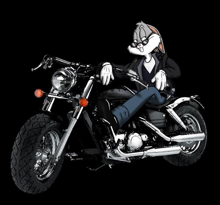 Bugs Bunny Motorcycle