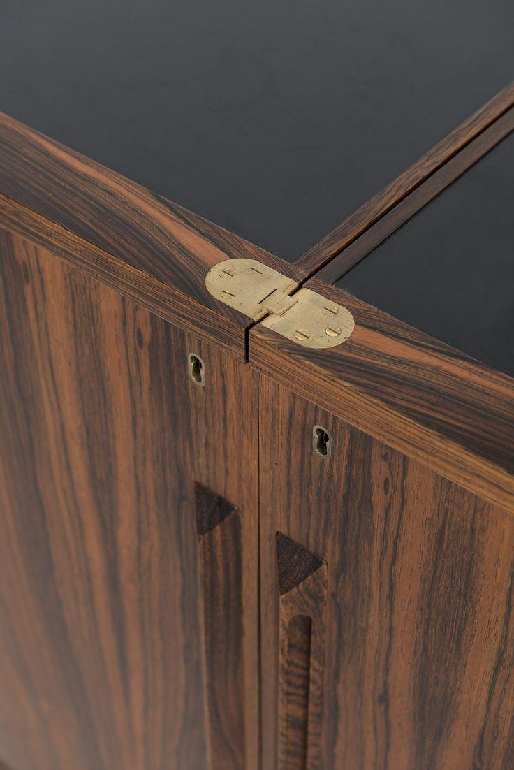 torbjrn afdal bar cabinet in rosewood at studio schalling
