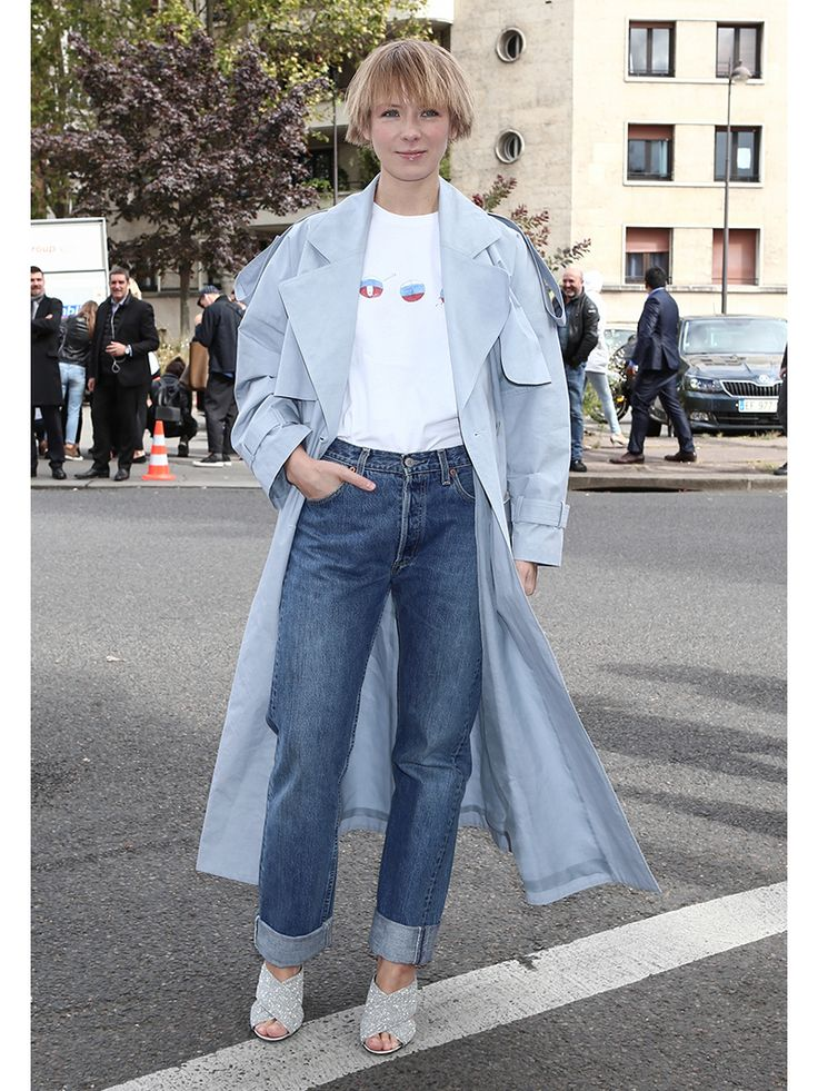 パリコレおしゃれ選手権:秋冬はボリュームアウターで風を切る!   FASHION   ファッション   VOGUE GIRL