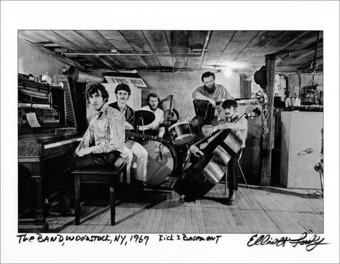 """In Rick's Basement, 1969."" by Elliot Landy. In my opinion the best shot of one of the best bands... period! A sort of ground zero for Americana"
