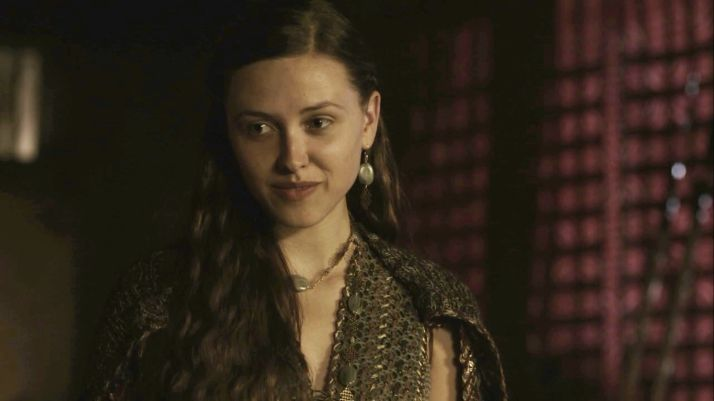 Elinor Crawley as Thyri, daughter of Earl Haraldson and