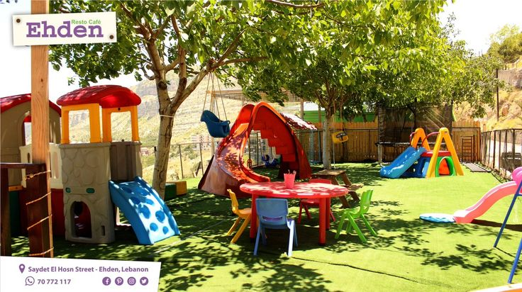 Cannot find a playground for your kids, where safety comes first? Check out our kids area ONLY at Ehden Resto Café. Visit our restaurant with your family and kids, and relax.  Contact us today and everyday, from Monday to Sunday, or by whatsapp at 70 772 117 for reservation and more details, or just give us a visit at Saydet Ehden Street, Ehden, Lebanon. Free Entrance to the kids playground. #restaurant #lebanesefood #internationalfood #kidszone #kidsarea #safety #playground #freeentrance #kidsp