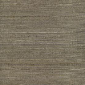 Allen Roth Metallic Gray Grass Cloth Unpasted Wallpaper