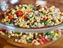 Summer Corn Salad Recipe I blanched the corn and used edamame instead of Lima beans.