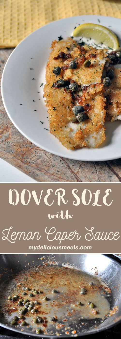 You have to try this Dover Sole! The lemon caper sauce penetrates deep into fish and gives it an amazing flavor. My husband likes this recipe because there's no hint of fishiness. If you aren't a fan of Dover sole, you can easily substitute your favorite white fish.