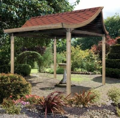 Patio ideas with fire pit - Tea House From Grange Garden Products Bring A Part Of Chinese Culture