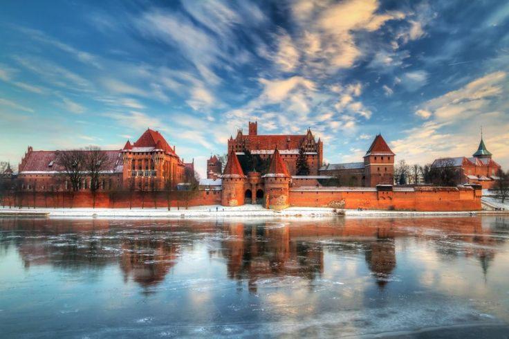 Malbork. Leaving the coast, you can continue inland to Malbork, where famous gothic castle is situated. The huge, impressive conctruction was built by Teutonic Knights in 13th century. The castle was inscribed on UNESCO World Heritage List in 1997. See the pictures! / Shutterstock