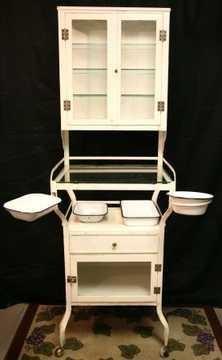 Antique Dental Cabinet   Yakaz For Sale